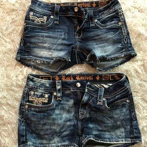 Pants - Rock revival shorts